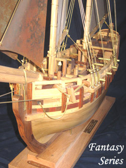 Fantasy Series - Late 18th Century Sloop-Of-War