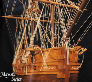 Majestic Series - 17th Century Dutch Flute - Ship Model #1